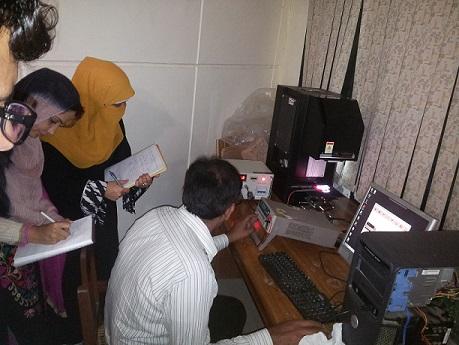 Solar Simulator Training @ QAU