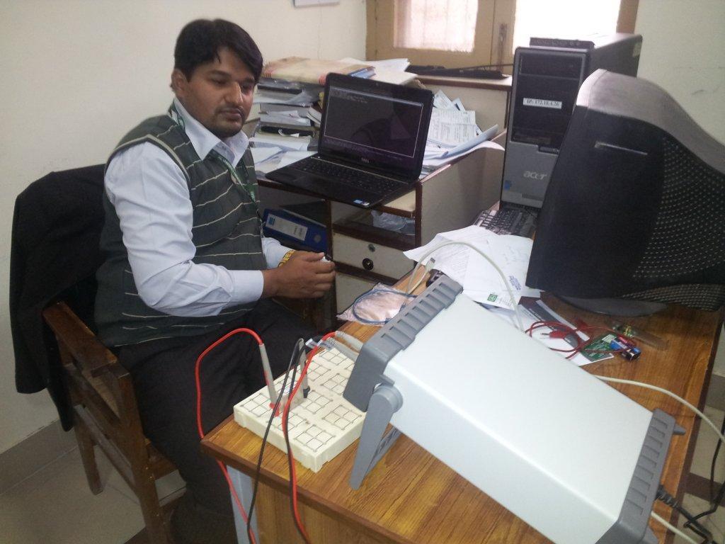 Keithley Training at GC University Faisalabad