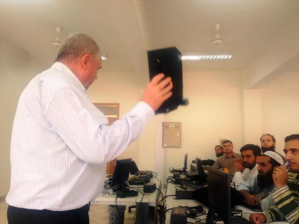 Training @ Jalozai Campus
